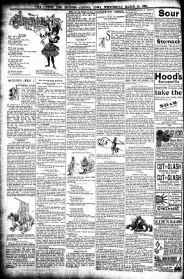 The Algona Upper Des Moines from Algona, Iowa on March 25, 1896 · Page 6