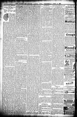 The Algona Upper Des Moines from Algona, Iowa on April 8, 1896 · Page 6