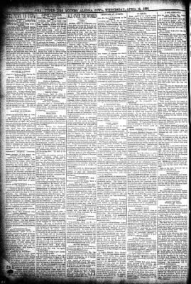 The Algona Upper Des Moines from Algona, Iowa on April 15, 1896 · Page 2