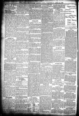 The Algona Upper Des Moines from Algona, Iowa on April 22, 1896 · Page 4