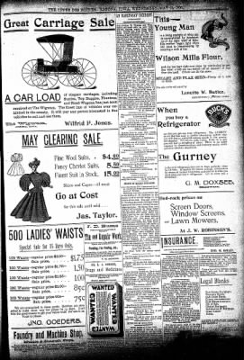 The Algona Upper Des Moines from Algona, Iowa on May 13, 1896 · Page 5