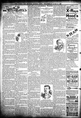 The Algona Upper Des Moines from Algona, Iowa on June 3, 1896 · Page 6