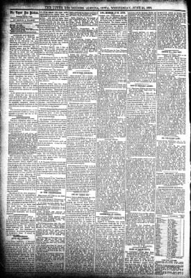 The Algona Upper Des Moines from Algona, Iowa on June 24, 1896 · Page 4
