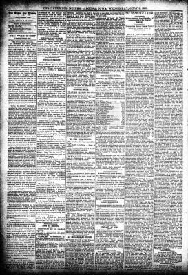 The Algona Upper Des Moines from Algona, Iowa on July 8, 1896 · Page 4