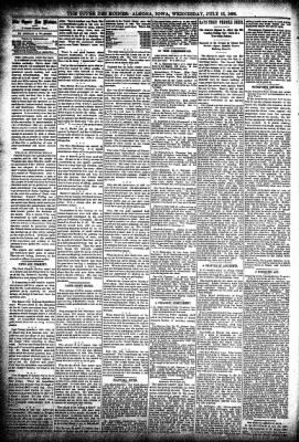 The Algona Upper Des Moines from Algona, Iowa on July 15, 1896 · Page 4
