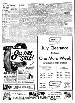 The Courier News from Blytheville, Arkansas on July 21, 1954 · Page 12