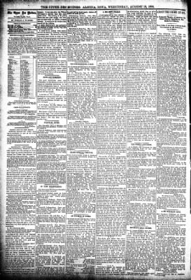 The Algona Upper Des Moines from Algona, Iowa on August 19, 1896 · Page 6