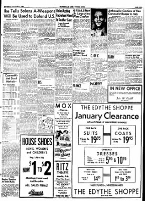 The Courier News from Blytheville, Arkansas on January 7, 1954 · Page 5