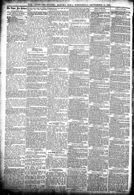 The Algona Upper Des Moines from Algona, Iowa on September 16, 1896 · Page 4