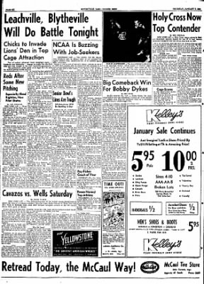 The Courier News from Blytheville, Arkansas on January 7, 1954 · Page 6