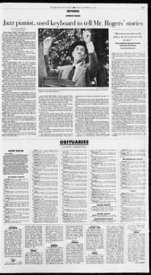 Pittsburgh Post-Gazette from Pittsburgh, Pennsylvania on October 13, 1996 · Page 85