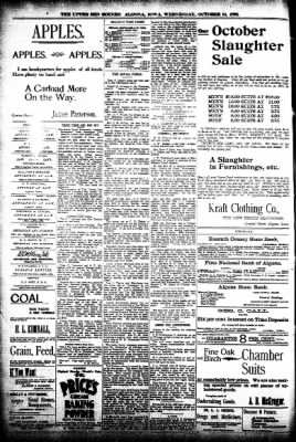 The Algona Upper Des Moines from Algona, Iowa on October 14, 1896 · Page 8
