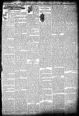 The Algona Upper Des Moines from Algona, Iowa on October 21, 1896 · Page 3