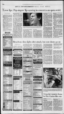 Pittsburgh Post-Gazette from Pittsburgh, Pennsylvania on September 15, 2001 · Page 24