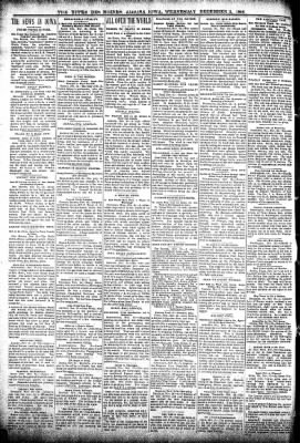 The Algona Upper Des Moines from Algona, Iowa on December 2, 1896 · Page 2