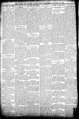 The Algona Upper Des Moines from Algona, Iowa on January 13, 1897 · Page 4