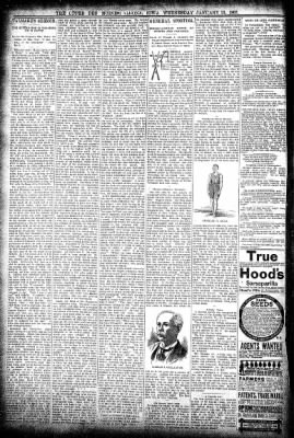 The Algona Upper Des Moines from Algona, Iowa on January 13, 1897 · Page 8