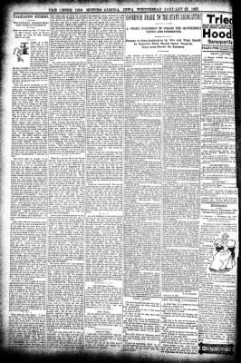 The Algona Upper Des Moines from Algona, Iowa on January 27, 1897 · Page 6