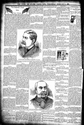 The Algona Upper Des Moines from Algona, Iowa on February 3, 1897 · Page 6