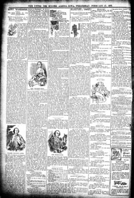 The Algona Upper Des Moines from Algona, Iowa on February 17, 1897 · Page 6