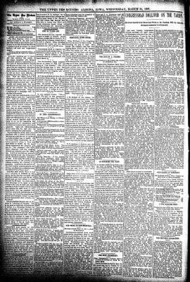 The Algona Upper Des Moines from Algona, Iowa on March 31, 1897 · Page 4