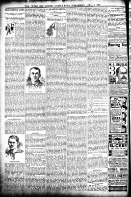 The Algona Upper Des Moines from Algona, Iowa on April 7, 1897 · Page 6
