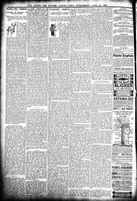 The Algona Upper Des Moines from Algona, Iowa on April 21, 1897 · Page 6