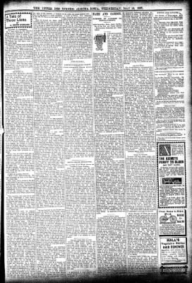 The Algona Upper Des Moines from Algona, Iowa on May 19, 1897 · Page 3