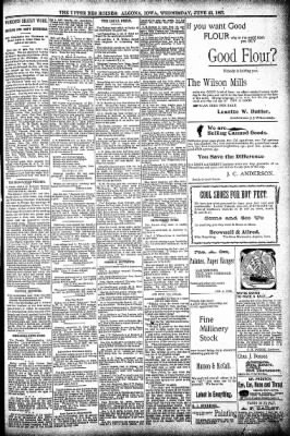 The Algona Upper Des Moines from Algona, Iowa on June 23, 1897 · Page 5