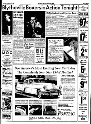 The Courier News from Blytheville, Arkansas on January 8, 1954 · Page 7