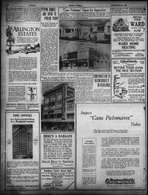 Oakland Tribune from Oakland, California on September 19, 1926 · Page 74