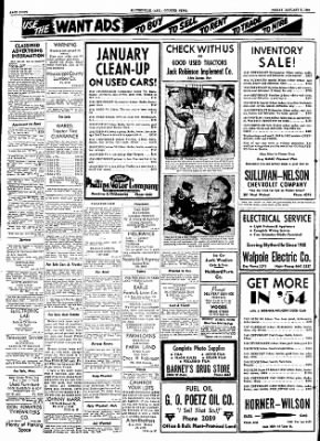 The Courier News from Blytheville, Arkansas on January 8, 1954 · Page 8