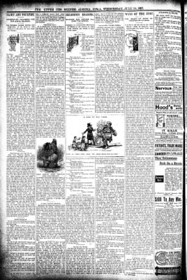 The Algona Upper Des Moines from Algona, Iowa on July 14, 1897 · Page 6