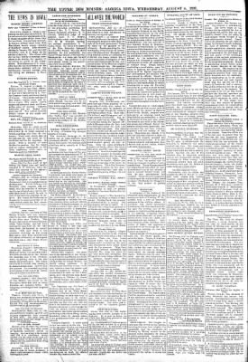 The Algona Upper Des Moines from Algona, Iowa on August 4, 1897 · Page 2
