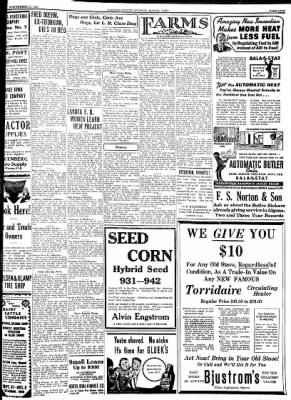 Kossuth County Advance from Algona, Iowa on September 21, 1937 · Page 9