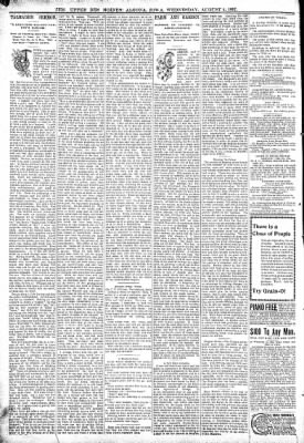 The Algona Upper Des Moines from Algona, Iowa on August 4, 1897 · Page 6