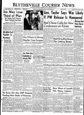 The Courier News from Blytheville, Arkansas on January 9, 1954 · Page 1