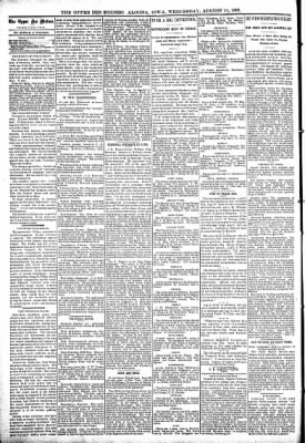 The Algona Upper Des Moines from Algona, Iowa on August 11, 1897 · Page 4