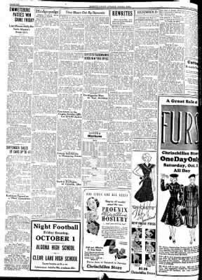 Kossuth County Advance from Algona, Iowa on September 28, 1937 · Page 10