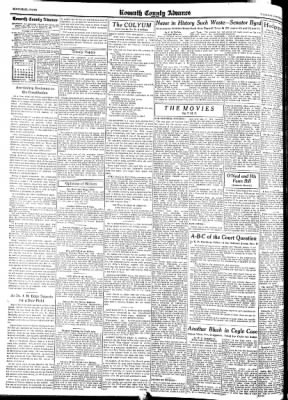 Kossuth County Advance from Algona, Iowa on October 5, 1937 · Page 1