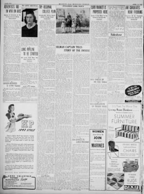 Monroe Morning World from Monroe, Louisiana on April 11, 1943 · Page 6