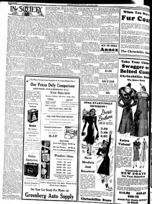 Kossuth County Advance from Algona, Iowa on October 26, 1937 · Page 8