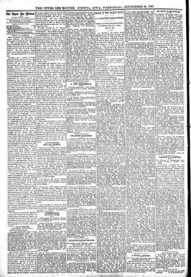 The Algona Upper Des Moines from Algona, Iowa on September 29, 1897 · Page 4