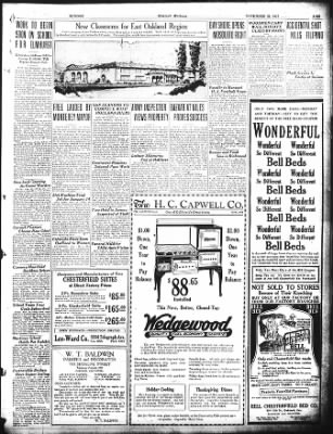 Oakland Tribune from Oakland, California on November 22, 1925 · Page 12
