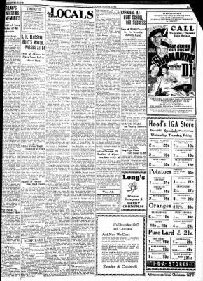 Kossuth County Advance from Algona, Iowa on December 21, 1937 · Page 5