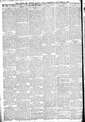 The Algona Upper Des Moines from Algona, Iowa on November 24, 1897 · Page 2