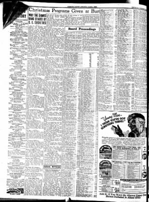 Kossuth County Advance from Algona, Iowa on December 29, 1937 · Page 6