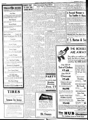 Kossuth County Advance from Algona, Iowa on January 13, 1938 · Page 2