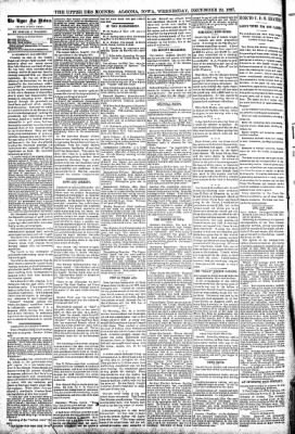 The Algona Upper Des Moines from Algona, Iowa on December 29, 1897 · Page 4