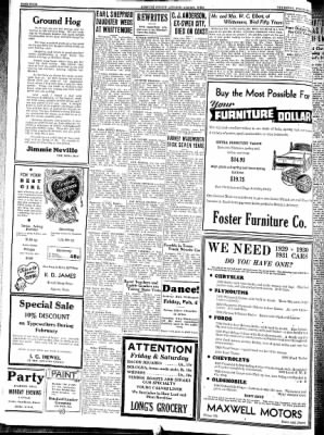 Kossuth County Advance from Algona, Iowa on February 3, 1938 · Page 6